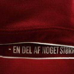 Scritta Danimarca kit interno maglia