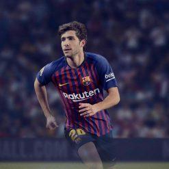 Sergi Roberto con la divisa del Barcellona 2018-2019