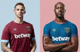 Le nuove maglie del West Ham 2018-19
