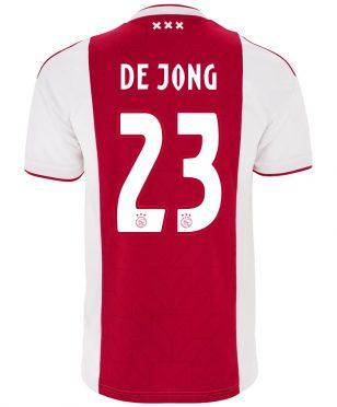 Prima maglia Ajax 2018-19 - De Jong 23
