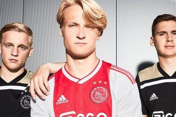 Maglie Ajax 2018-2019 adidas
