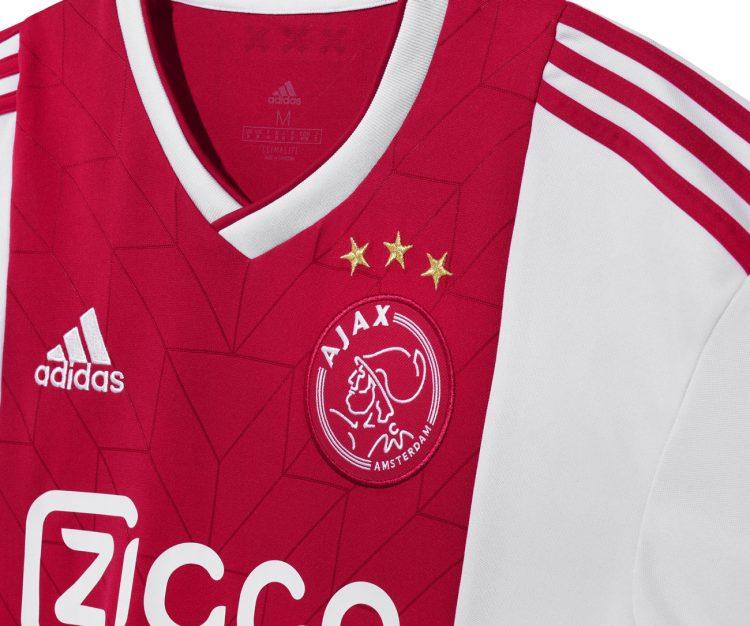 Sfondo retrò adidas, maglia Ajax