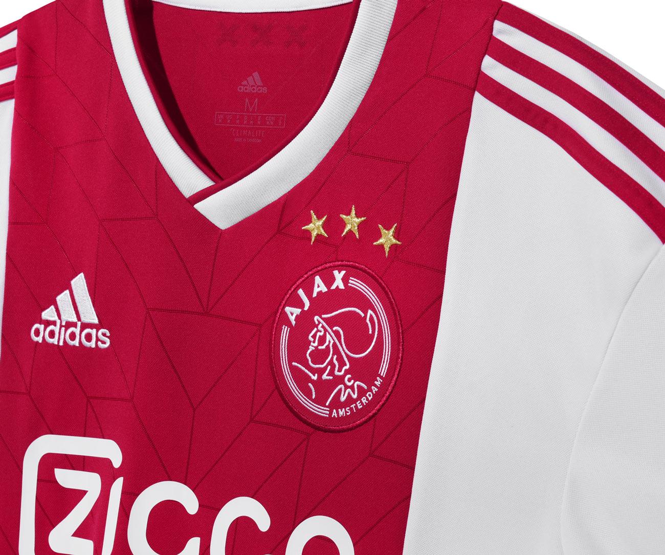 Maglie Ajax 2018-2019, design retrò e tocchi dorati per adidas