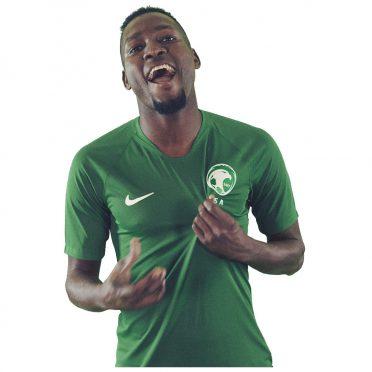 Arabia Saudita seconda maglia 2018 verde