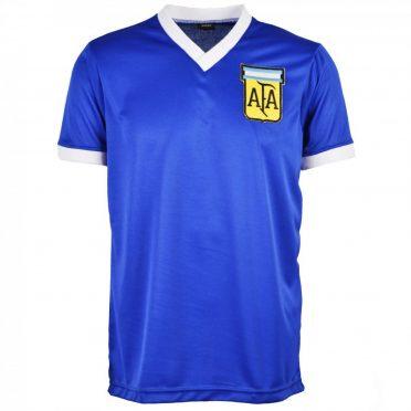 Maglia away Argentina blu 1986