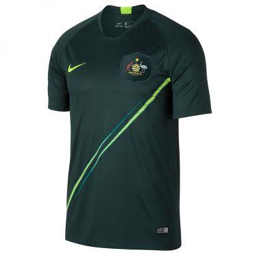 Seconda maglia Australia 2018 verde