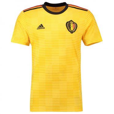 Belgio divisa away gialla 2018