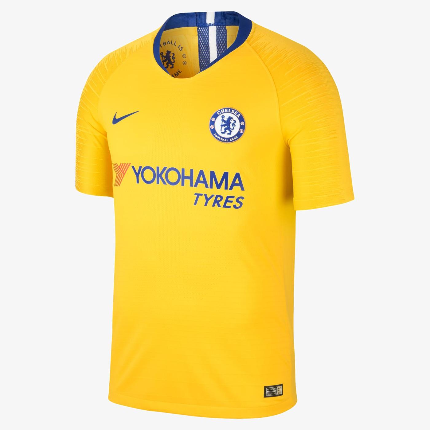 Maglia Chelsea 2018-2019, Nike rispolvera le pinstripes annni '80