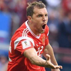 Maglia Dzyuba con patch FIFA