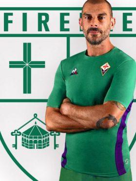 San Giovanni, maglia verde Fiorentina