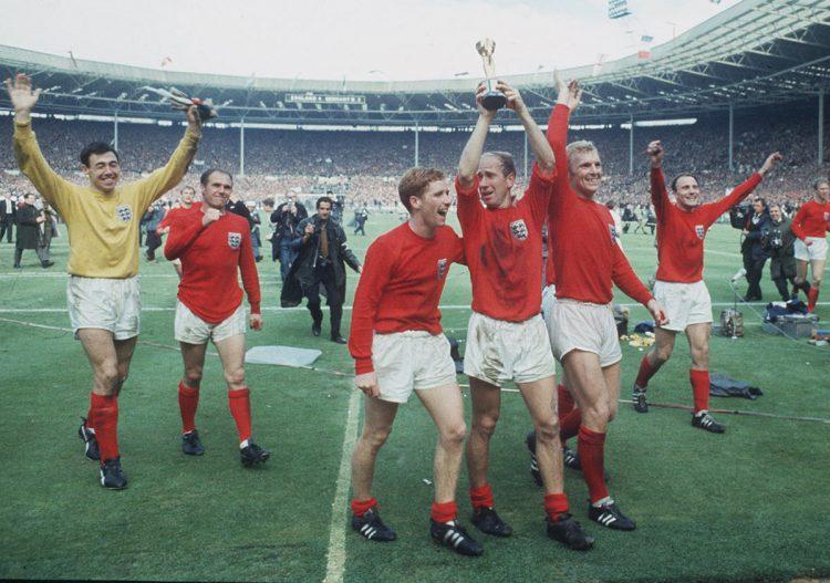 Inghilterra in trionfo ai Mondiali 1966