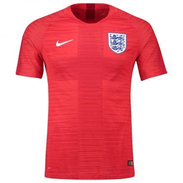 Inghilterra maglia away rossa 2018