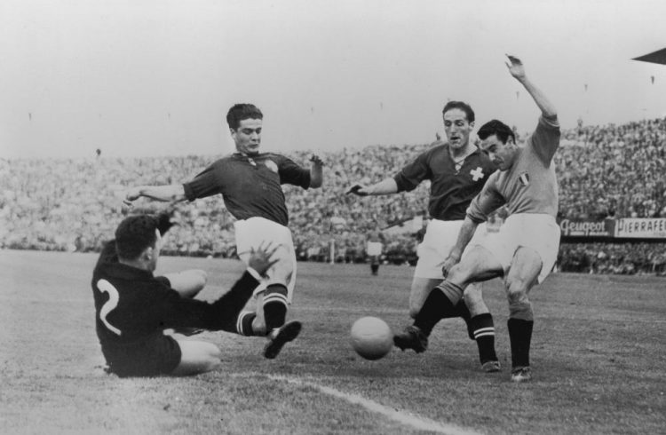 Italia-Svizzera mondiali 1954