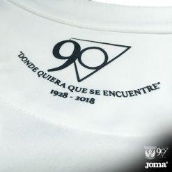 Logo 90 anni Leganes maglia away