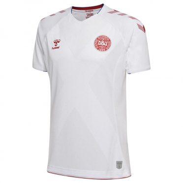 Seconda maglia Danimarca 2018 bianca