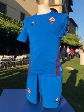Maglia Fiorentina azzurra 2018-19 Santa Croce