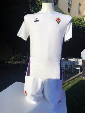 Maglia Fiorentina away 2018-19 bianca Santo Spirito