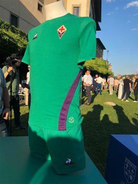 Maglia verde Fiorentina 2018-19 San Giovanni