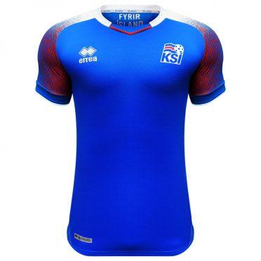 Maglia Islanda Mondiali 2018 blu