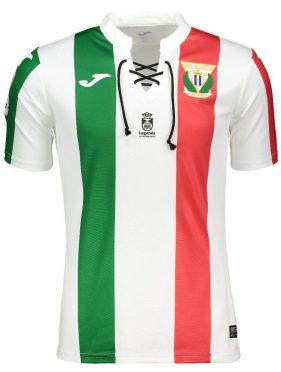 Seconda maglia Leganés 2018-2019 tricolore
