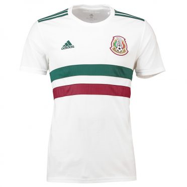 Kit Messico away 2018 bianco