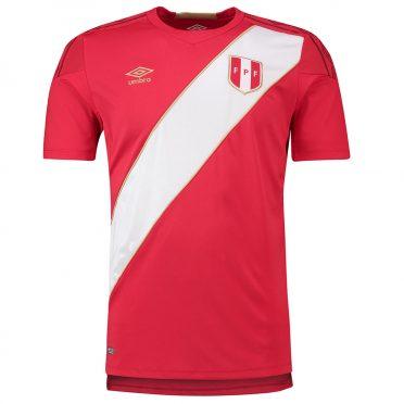 Seconda maglia Perù 2018 rossa