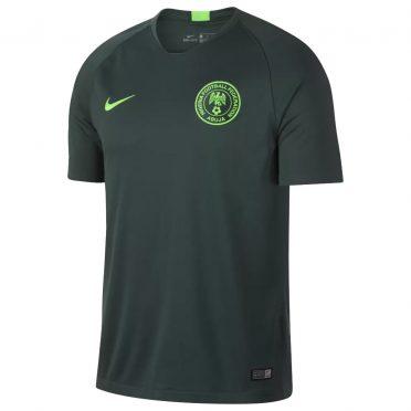 Nigeria maglia away verde 2018