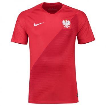 Polonia seconda maglia rossa 2018