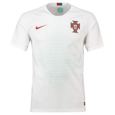 Portogallo maglia away bianca 2018
