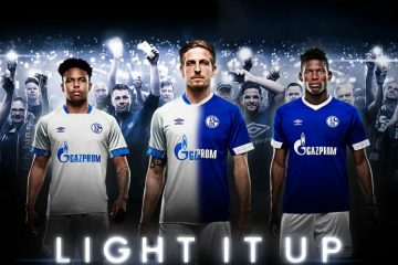 Maglie Schalke 04 2018-2019 griffate Umbro