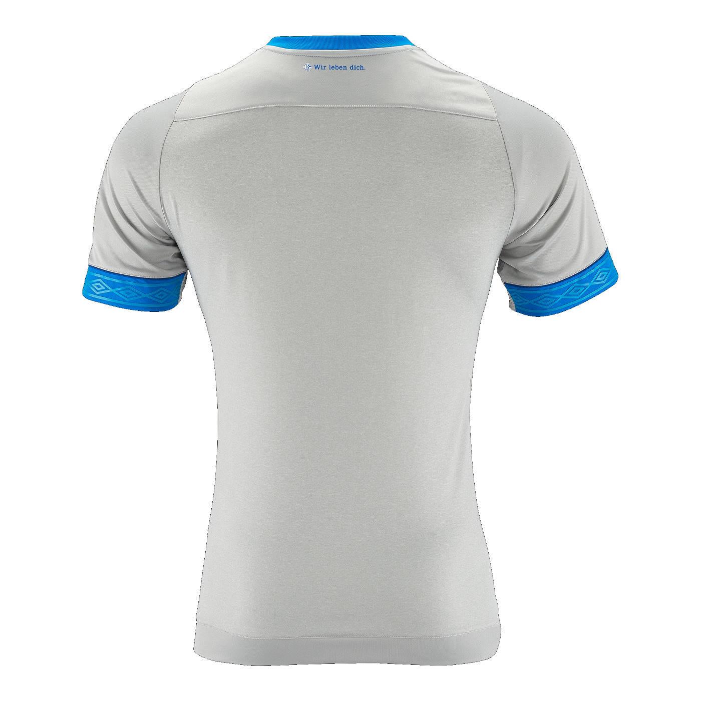 Maglie Schalke 04 2018-2019, l'esordio di Umbro a Gelsenkirchen