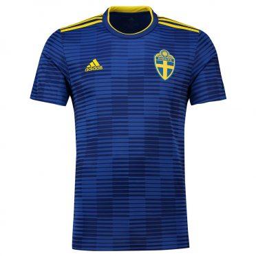 Svezia divisa away blu 2018
