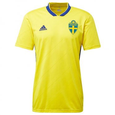 Maglia Svezia mondiali 2018 adidas