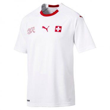Seconda maglia Svizzera 2018