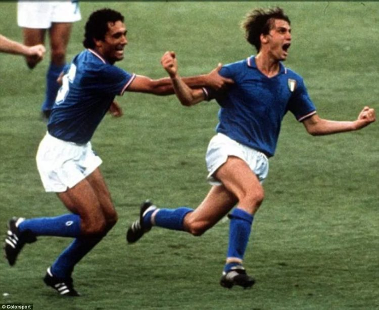Urlo Marco Tardelli, Italia 1982