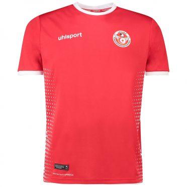 Seconda maglia Tunisia 2018 Uhlsport