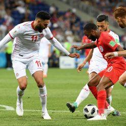 Tunisia-Inghilterra, toppe mondiali 2018