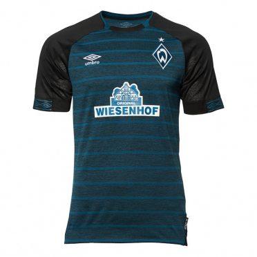 Seconda maglia Werder Brema verde-nero 2018-19