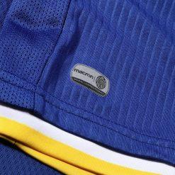 Righine gessate, maglia Hellas Verona blu