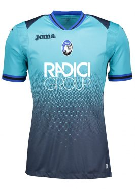Terza maglia Atalanta celeste 2018-19