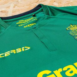 Colletto seconda maglia Las Palmas verde