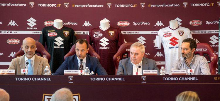 La presentazione delle maglie del Torino 2018-2019