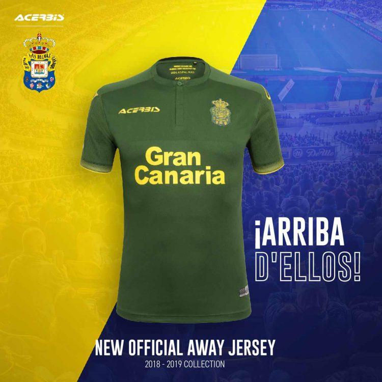 Maglia away Las Palmas 2018-2019 verde