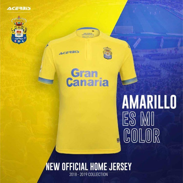 Maglia Las Palmas 2018-2019 Acerbis