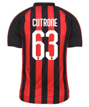 Maglia Milan home Cutrone 63