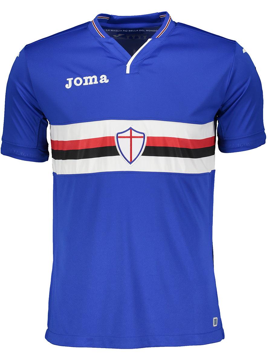 Maglie Sampdoria 2018-2019, tutte le novità di Joma