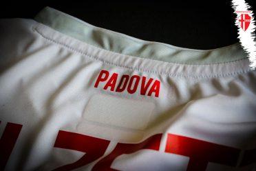 Retro collo prima maglia Padova Calcio