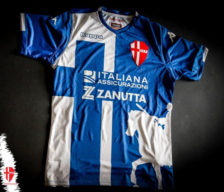 Seconda maglia Padova blu 2018-2019