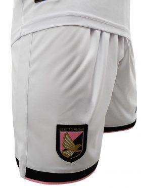 Pantaloncini Palermo bianchi away