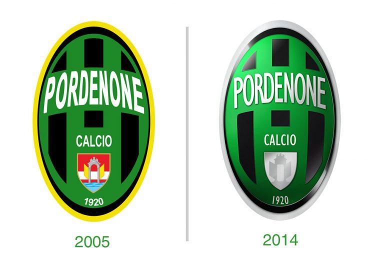 Pordenone, stemma 2005 e redesign 2014